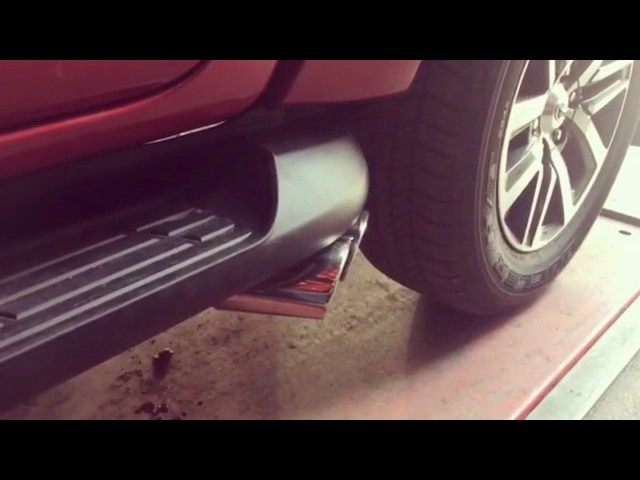 Toyota Hilux 2.5 Dizel Egzoz Sesi
