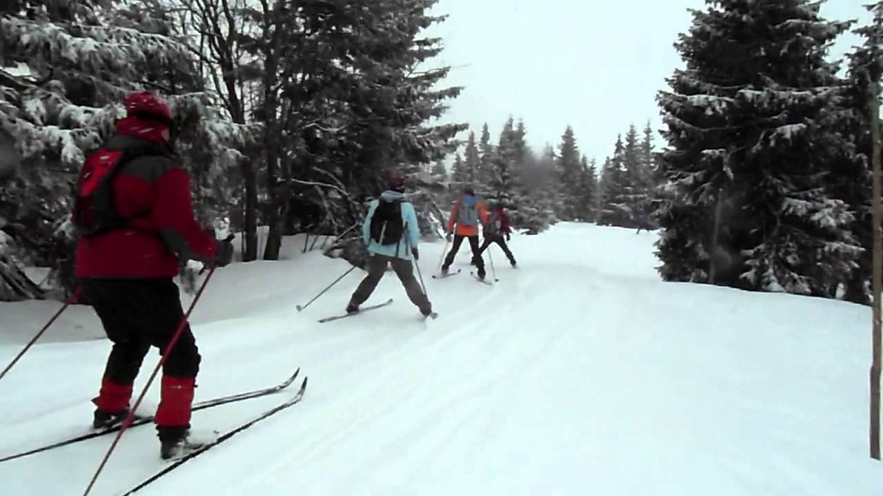 rajd narciarski Karkonosze 2012 - trasa do Lyżarskiej boudy-1/1