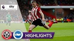 Per Vollspann ins Glück | Sheffield - Brighton 1:1 | Highlights - Premier League 2019/20