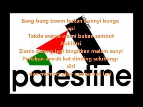 5forty2 balada palestin lirik