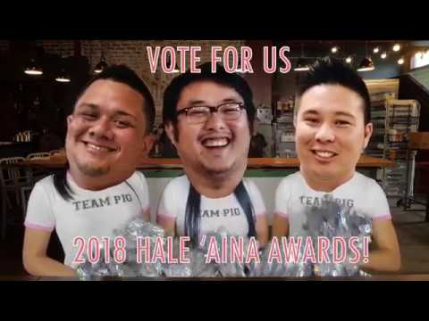 Vote for us for the 2018 Hale Aina Awards presented by Honolulu Magazine