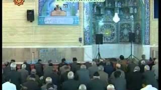 Hojatoleslam Hasani present accounts in latest Friday prayer of Urmia
