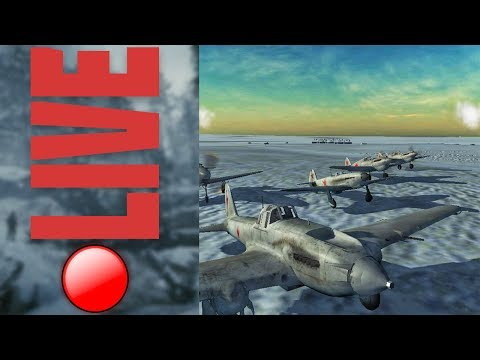 Wings of Duty - Escorting Il-2's to German Convoy