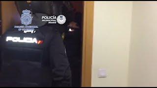 Desarticulado grupo de narcotraficantes que distribuía hachís en Madrid