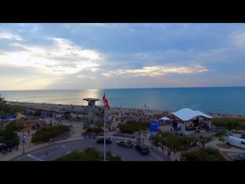 Grand Bend Ontario Summer 2016. DJI Phantom 3 Advanced Drone.