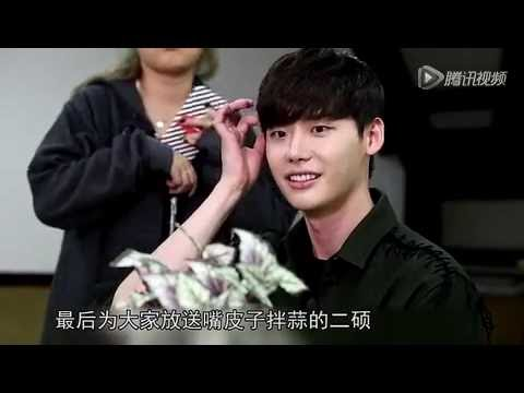 """W"" Cast  interview for QQ Tencent -Leejongsuk &Hanhyojoo"