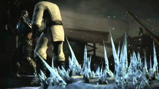 Mortal Kombat X - Sub Zero bed of spikes fatality
