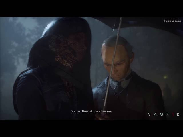 Vampyr - Extrait de gameplay sur PS4