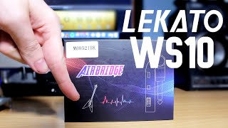 Lekato WS-10 2.4GHZ Wireless Guitar System Unboxing/Demo