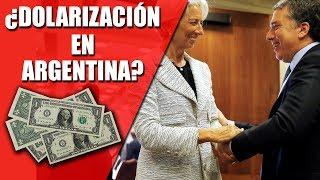 ¿Dolarización de la ECONOMÍA ARGENTINA? - Diferencias entre dolarizar y convertibilidad