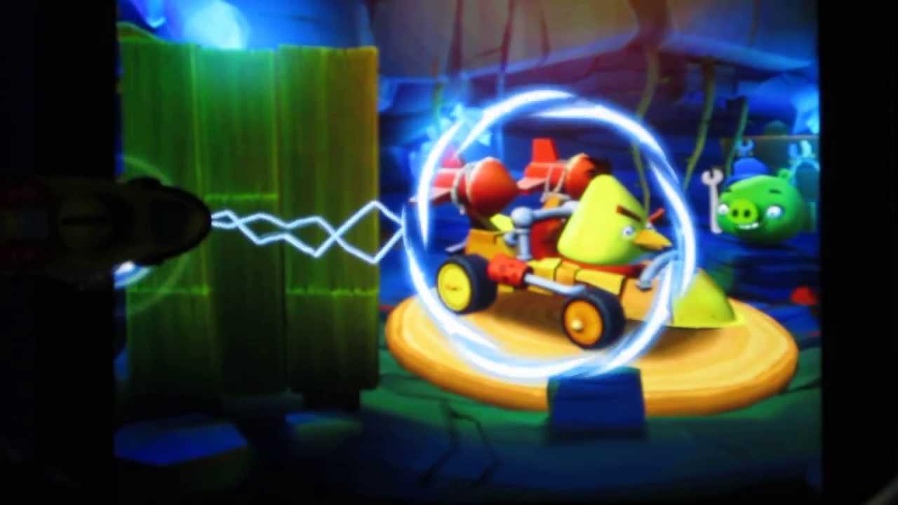 Angry Birds Go Chucks Mega Rocket