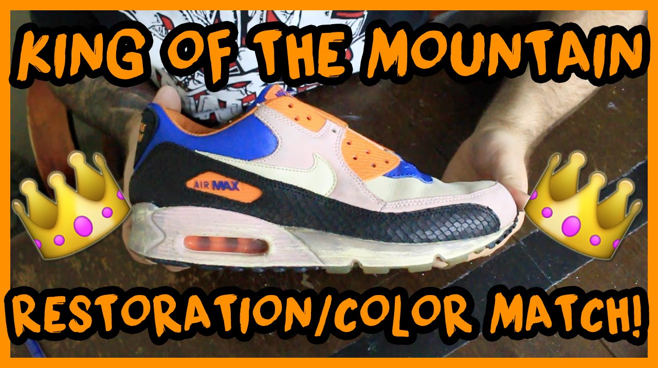 Review: Nike Air Max 90 Doernbecher (2008) YouTube