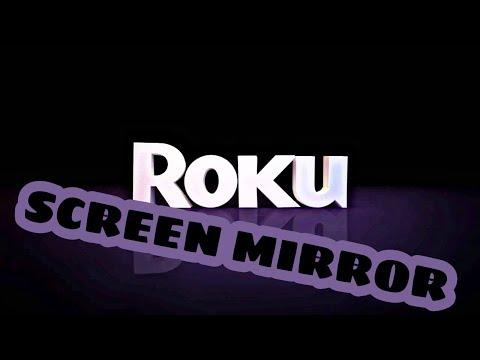 Screen mirror iphone to roku tv no wifi