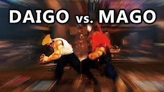 Street Fighter V Mago tries out Akuma 2.5!