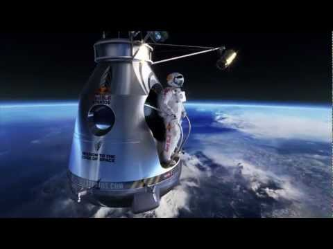 Supersonic Freefall from the Stratosphere by Felix Baumgartner - Red Bull Stratos HD