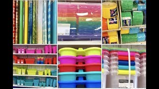 MICHAELS BACK TO SCHOOL Shop With Me Book Bins Containers