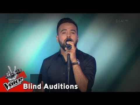 Νίκος Καρτσώνάκης – Βράδια αξημέρωτα | 4o Blind Audition | The Voice of Greece