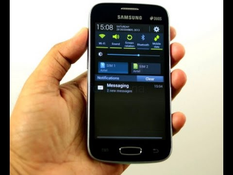 Samsung Galaxy Star Plus GT-S7262 обзор ◄ Quke.ru ►