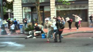 The Battle of Portland, Oregon May 1st 2015