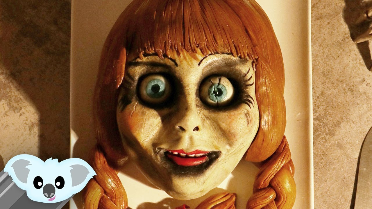 Annabelle Cake Scary Halloween Ideas Youtube