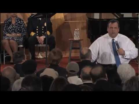 Chris Christie Discusses Education Reform in Paterson
