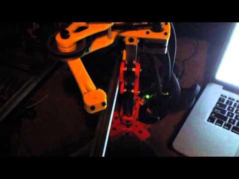 SCARA Robot Arm Firmware Test