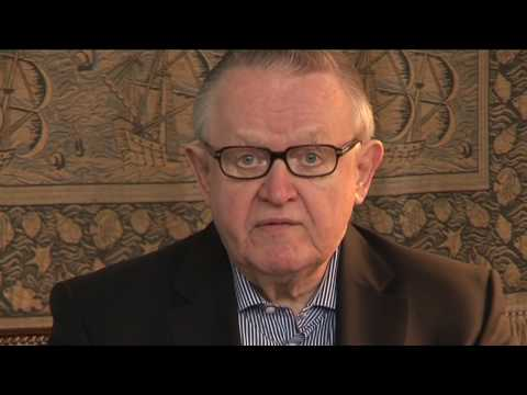 Ask the Elders: Martti Ahtisaari
