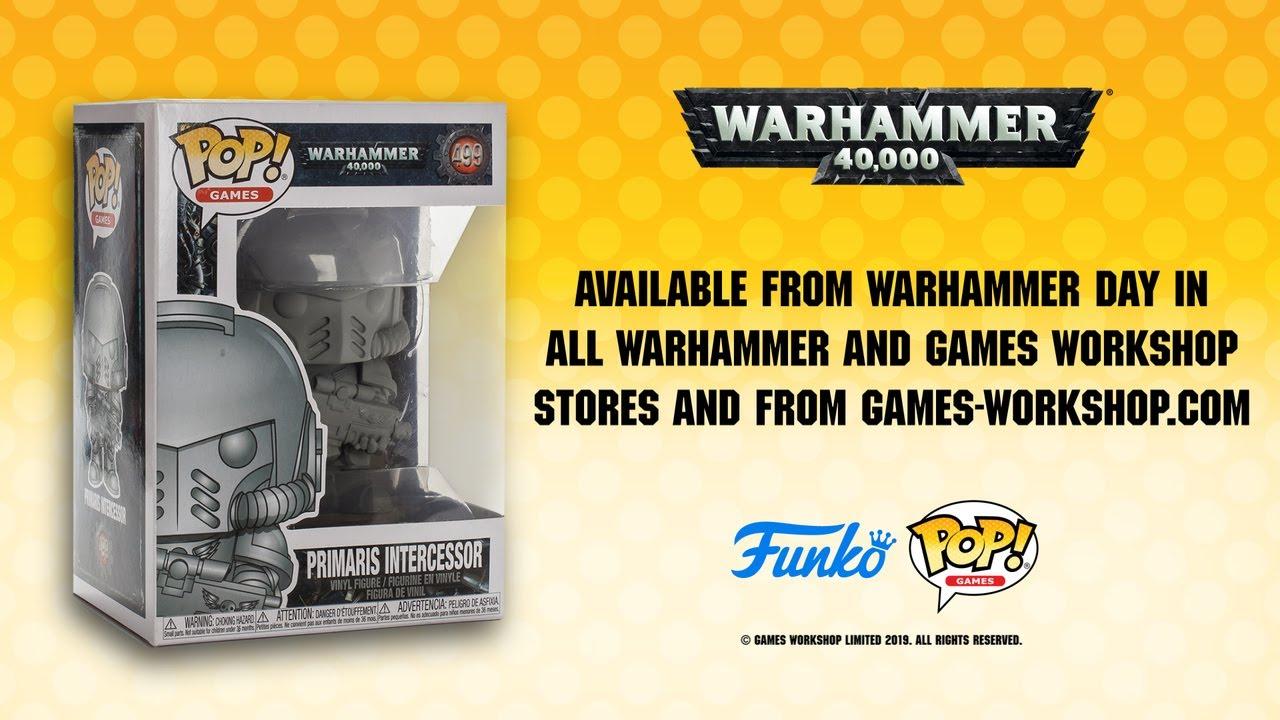 FunKo Free Shipping! Primaris Intercessor Pop Vinyl Warhammer 40K