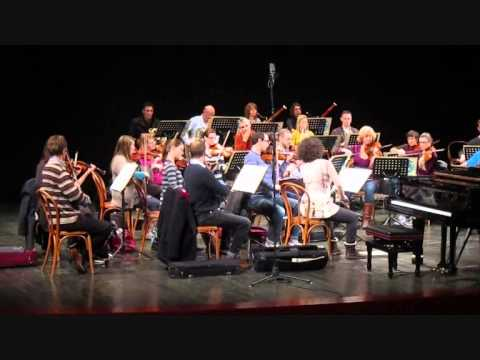 English Chamber Orchestra rehearse Schubert in Italy