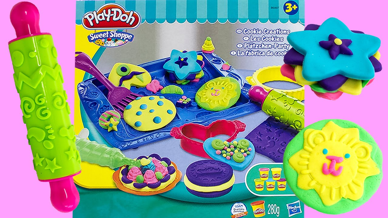 Play-Doh Cookies Creations Play Set Cooking Set Play Doh ...
