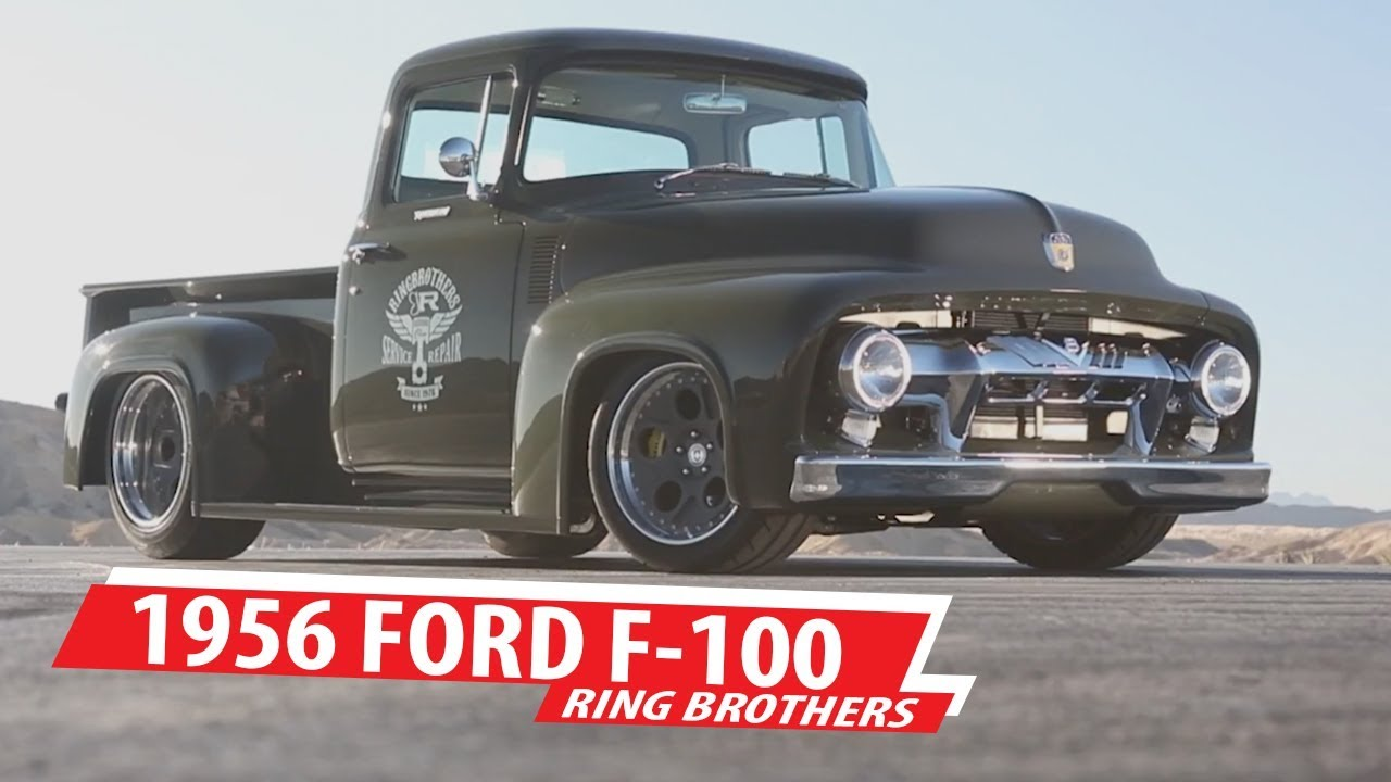Driving line ride of the week ring brothers 1956 ford f 100 clem 101