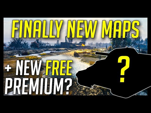 ? New Maps + New Free Premium Tank Event? - World of Tanks 2018 NEWS - Update 1.0.3+