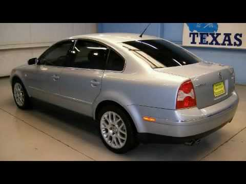 Preowned 2003 Volkswagen Passat W8 Houston TX