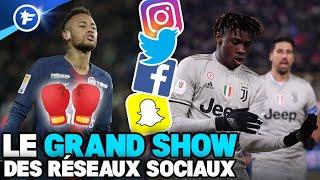 Neymar en mode boxeur, la danse endiablée de Moise Kean | Le Grand Show
