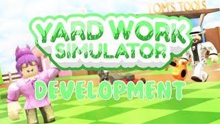 Roblox Development | Programming | Yard Work Simulator
