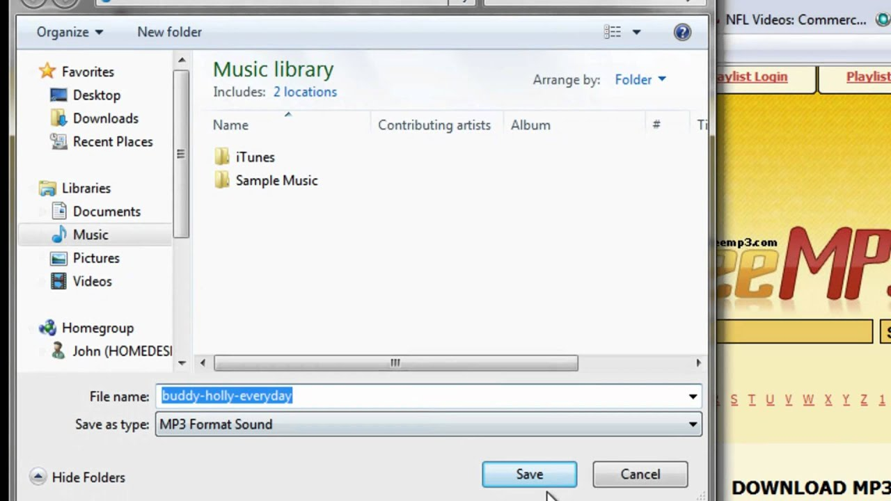 how to get free music downloads for ipod