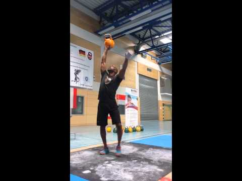 Kettlebell Power Juggling - Worms, Germany - May 2015
