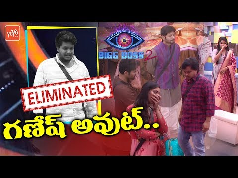 Bigg Boss 2 Telugu 12th Week Elimination | Ganesh Elimination | Amit Tiwari | Nani | YOYO TV Channel