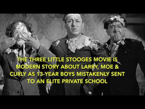 The Three Little Stooges Movie Indigogo Campaign - Pie Fight