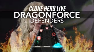 Clone Hero Live - Dragonforce - Defenders (Chart Preview)