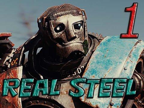 Прохождение игры Живая сталь(Real steel PS3/Xbox360)-избиение Метро