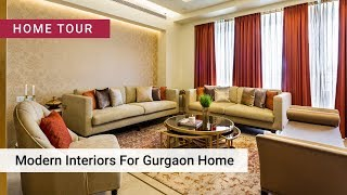 Modern Makeover For A 4BHK In Gurgaon | Livspace Interior Design