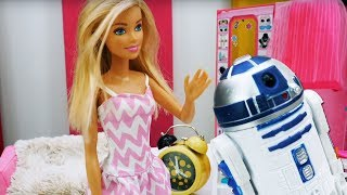 Веселая история Барби и робота. Мультики Барби