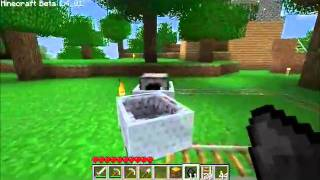 Minecraft Tutorial 7 - Carrinhos de Mina ( Minecarts )
