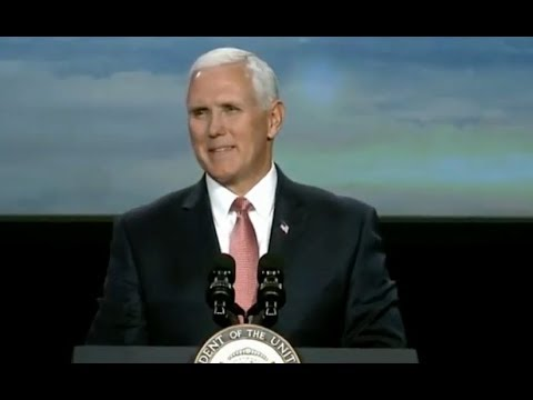 Pence In Colorado At Space Symposium - Full Speech