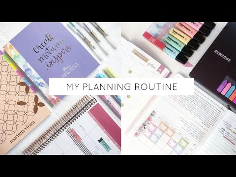 My Planning Routine