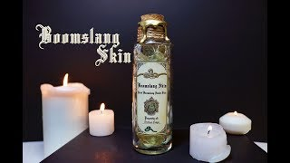 Boomslang Skin : Harry Potter Potions : DIY Movie Prop : DIY Potion Bottle :  (Polyjuice Potion)