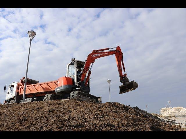 VÍDEO: En marcha las primeras zonas verdes en la urbanización de El Zarpazo