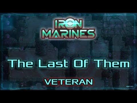 Iron Marines Walkthrough - 1st Expansion: The Last Of Them - Veteran (tutorial / how to)