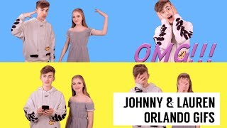Johnny & Lauren Orlando's NEW Gifs 2018